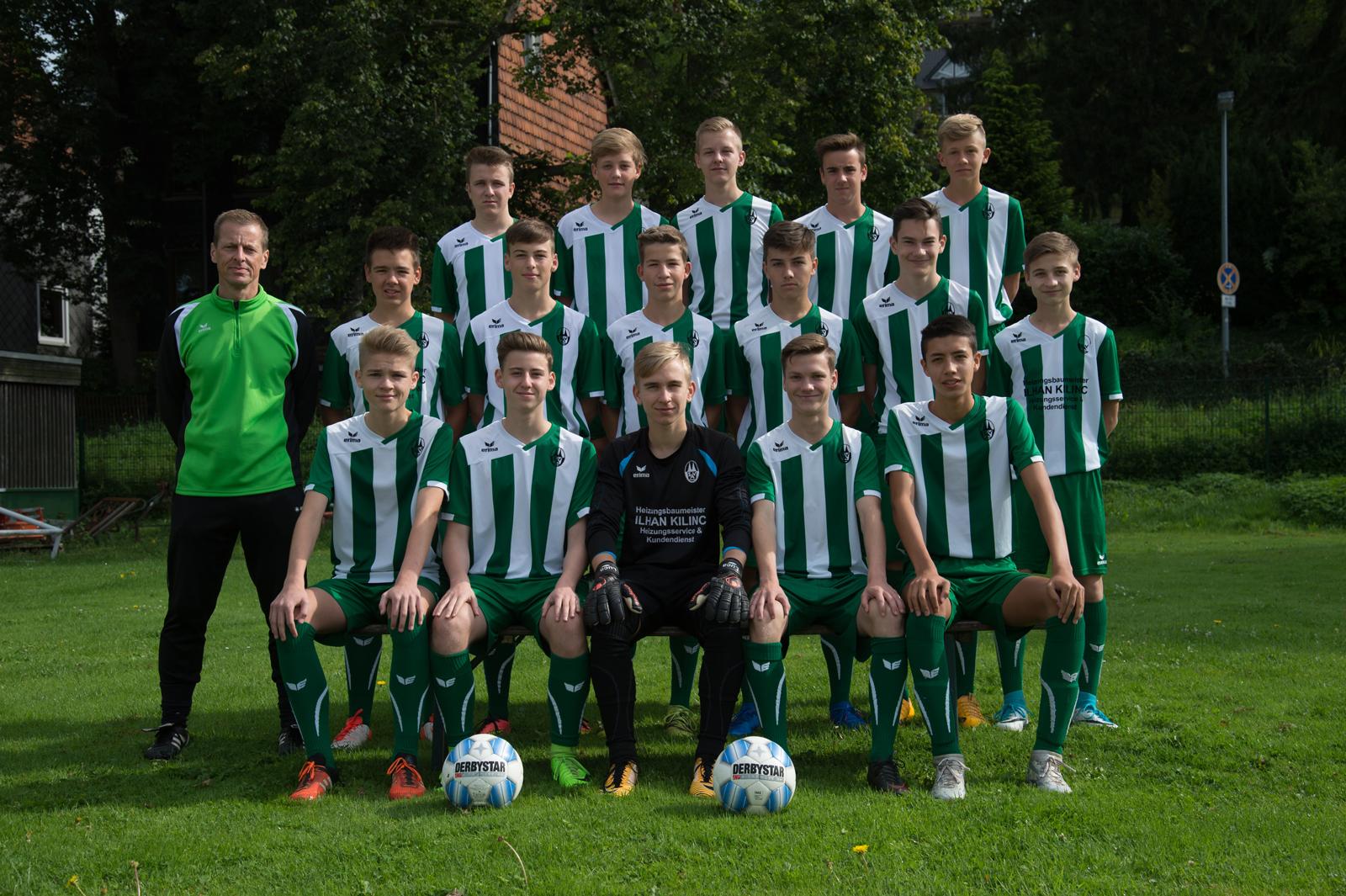 B-Junioren - Bezirksliga 2017